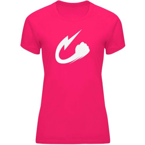 Camiseta Narumi rosa fresa
