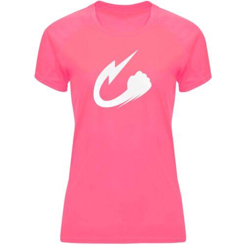 Camiseta Narumi rosa fosfi