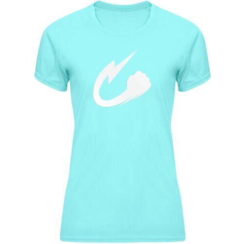 Camiseta Narumi turquesa