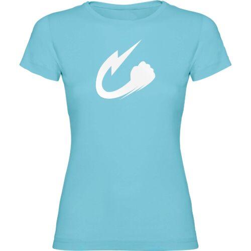 Camiseta Shakura azul claro